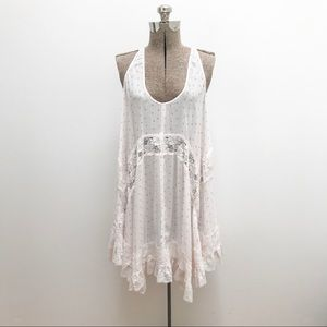 Free People Intimately Trapeze Floral Dress - L